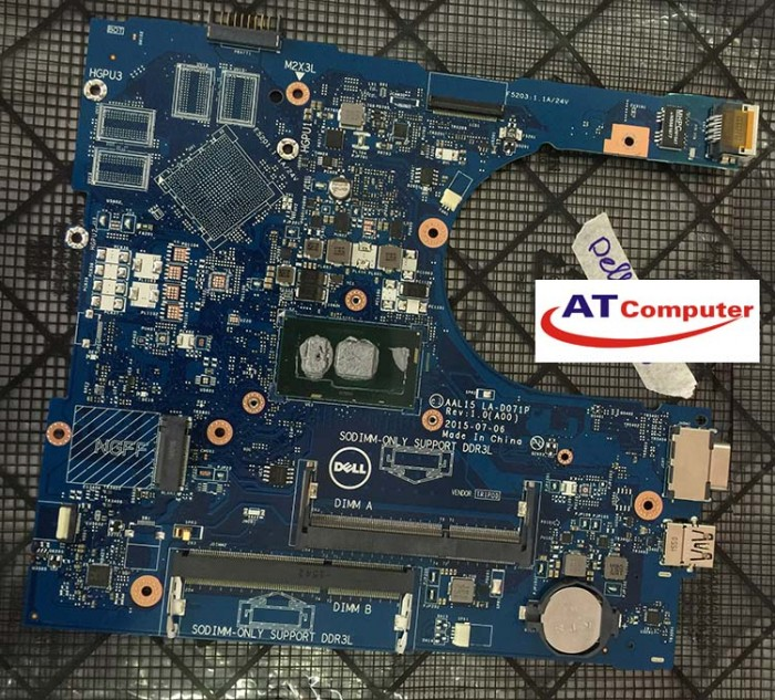 MAINBOARD DELL N3559, i5-6200U, VGA share