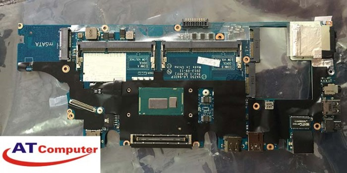 MAINBOARD DELL 7240, i5-4300U, VGA share. Part: LA-9431P