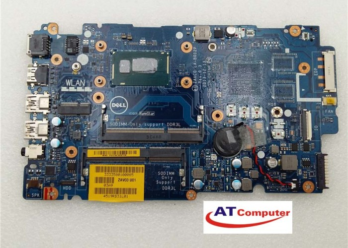 MAINBOARD DELL 5547, i3-4010U, VGA share. Part: LA-B012P