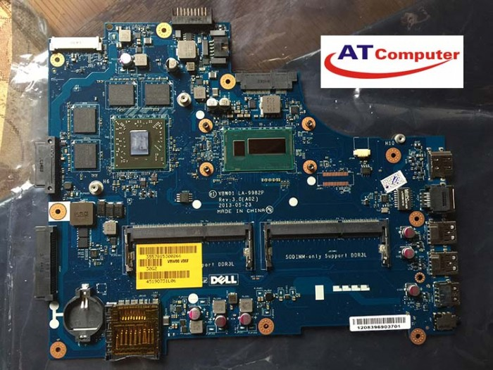 MAINBOARD DELL 3537, 5537, i7-4510U, VGA rời. Part: CN-0P28J8, LA-9982P