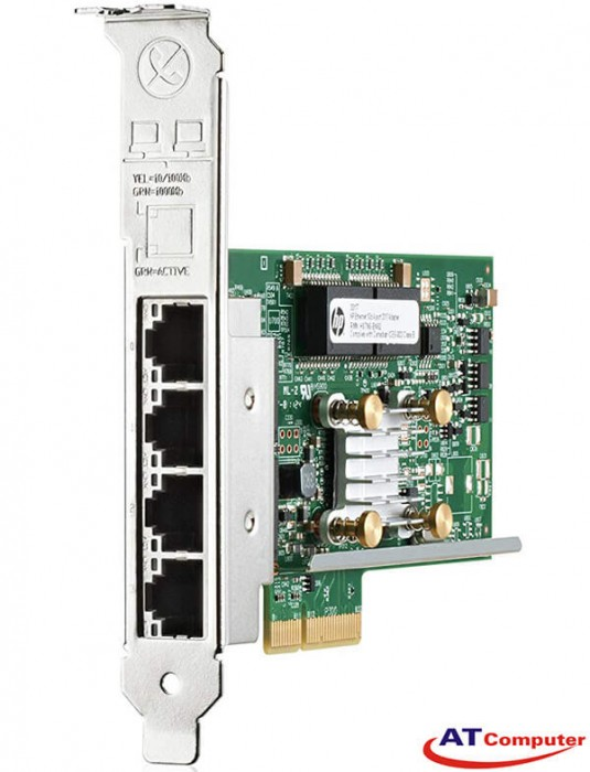 HP 366T Ethernet 1Gb Quad Port Adapter, Part: 811546-B21