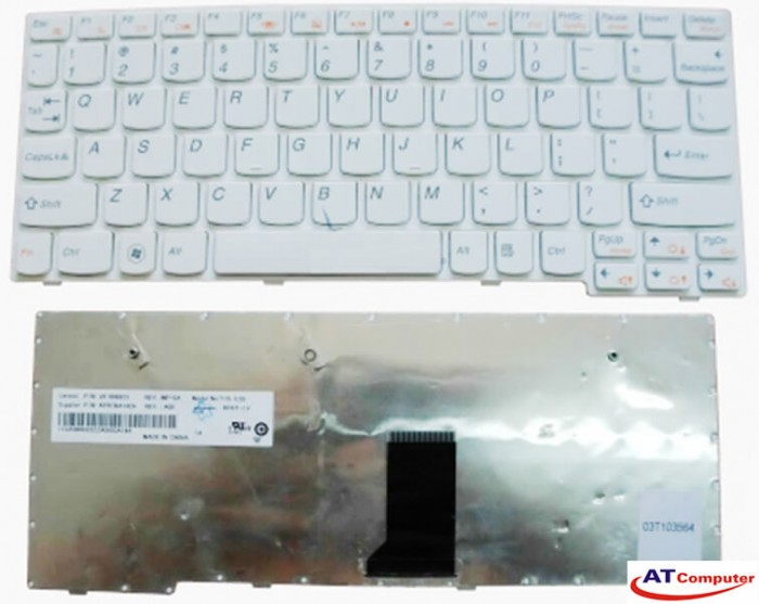 Bàn phím Lenovo Ideapad S10-3. Part: 25010060, T1S-SPA, AEFL5P00020, MP-09J66E0-686