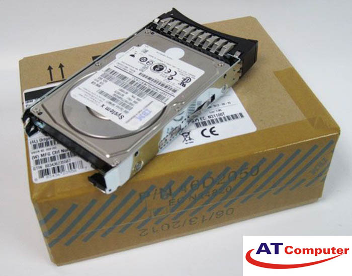HDD IBM 300GB 12G SAS 15K 2.5''. Part: 00AR324