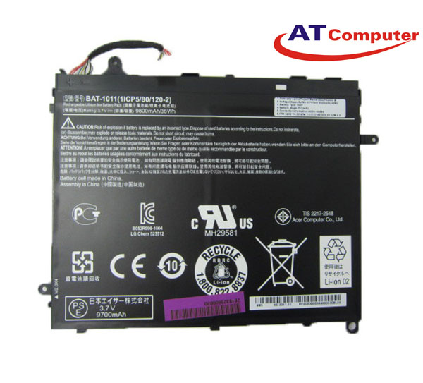 PIN ACER Switch Alpha 12 SA5, 4Cell, Oem, Part: AP16B4J