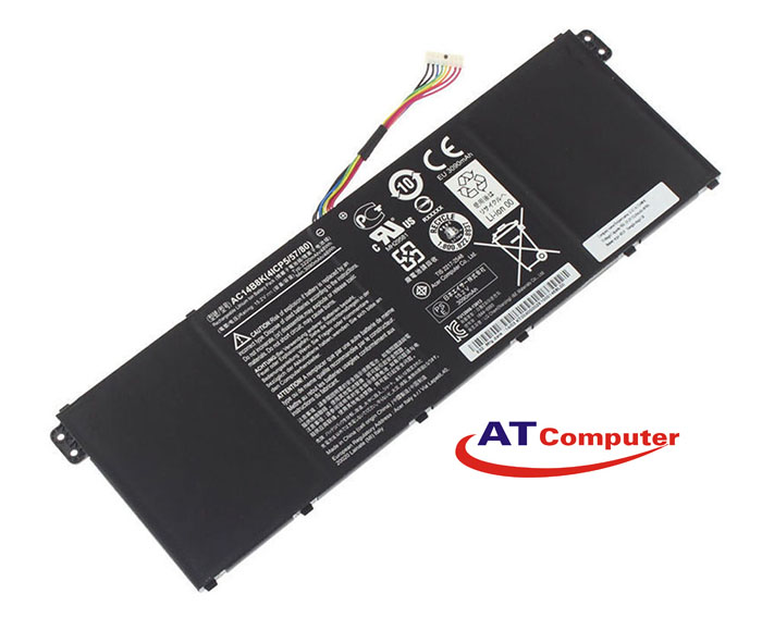 PIN ACER Aspire V3-371, V3-111, ES1-511, E5-771G. 3Cell, Original, Part: AC14B8K