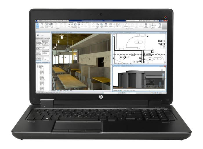 HP Zbook 15 G1, i7-4800MQ, 8G, 500Gb, 15.6 LED FHD, VGA Nvidia Quadro K1100M 2GB