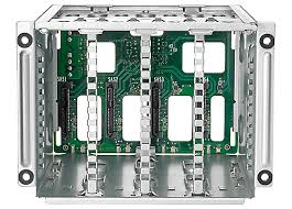 HP DL380 Gen9 Additional 8SFF Bay2 Cage, Backplane Kit. Part: 768857-B21