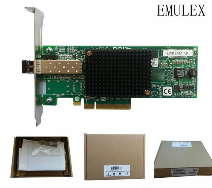 DELL Emulex LPe32000 Single-port, 32GFC PCIe HBA