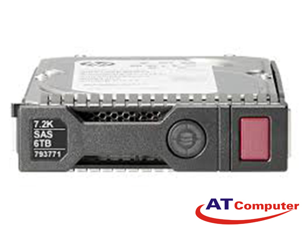 HDD HP 6TB SAS 7.2K RPM 12Gbps 3.5'' 512e LFF SC. Part: 765259-B21