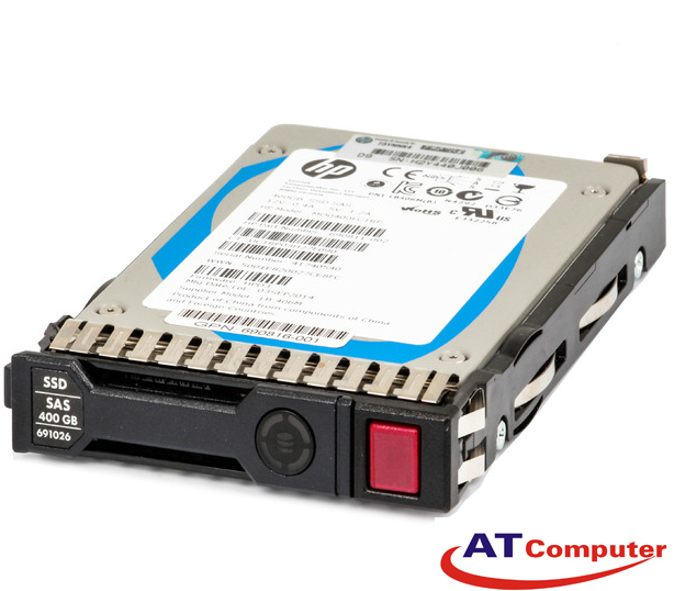 SSD HP 400GB SC SAS 12Gbps 2.5'' SFF EM. Part: 779168-B21