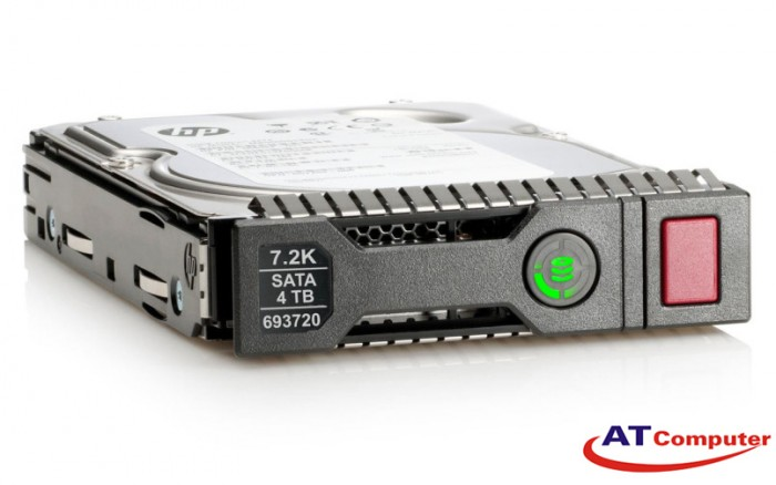 HDD HP 4TB 6G SATA 7.2K RPM LFF MDL SC 512e 3.5''. Part: 793665-B21