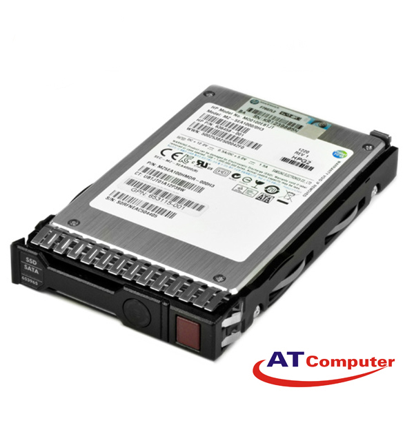 SSD HP 200GB SATA 3Gbps MLC 3.5''. Part: 653124-B21