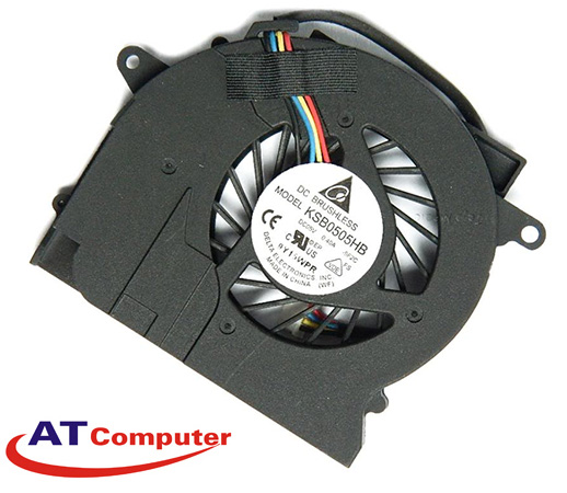 FAN CPU HP Elittebook 2540P. Part: 598789-001