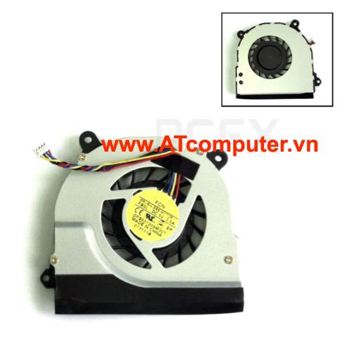 FAN CPU TOSHIBA U500, U505. Part: DFS531205M30T(DC5V 0.5A)