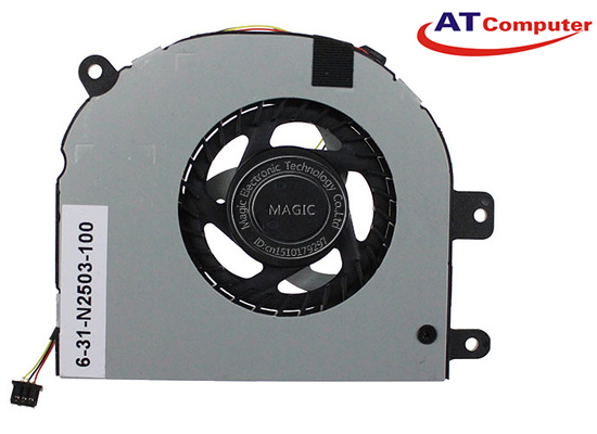 FAN CPU Clevo 6-31-N2503-102. Part: FH30, DFS531005FL0T