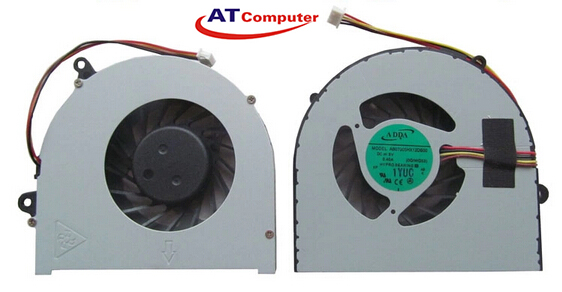 FAN CPU LENOVO Ideapad 110-14IBR, 110-15ACL, 100-15IBD. Part: AB7205HX-GC1, AB07005HX12DB00