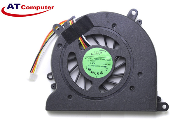 FAN CPU LENOVO A300, A305, A310, A320. Part: GB0506PFV1-A, AB7205HX-GC1, JAL50, 13.V1.B4318.F