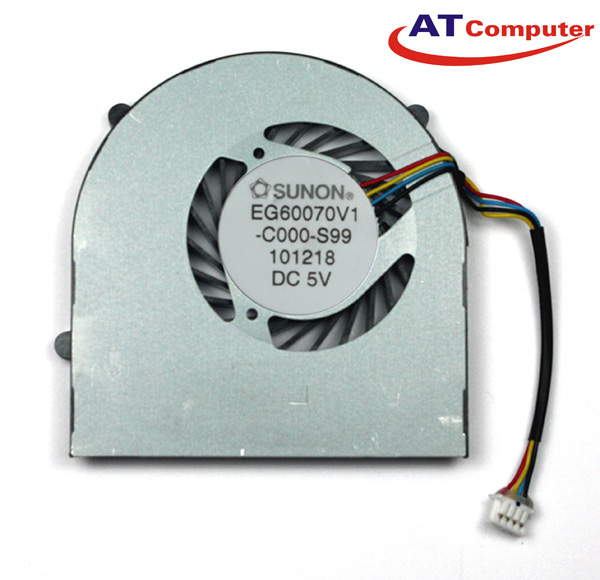 FAN CPU LENOVO Ideapad U160, U165, S205. Part: EG60070V1-C000-S99, MF75090V1-C000-S99