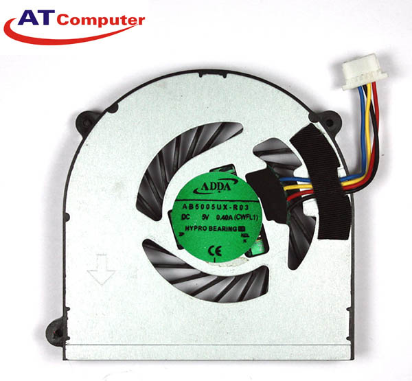 FAN CPU SONY VPC-Y218, Y115 Y118, YA26, YB15, YB3. Part: AB5005UX, AY06505HX14D300