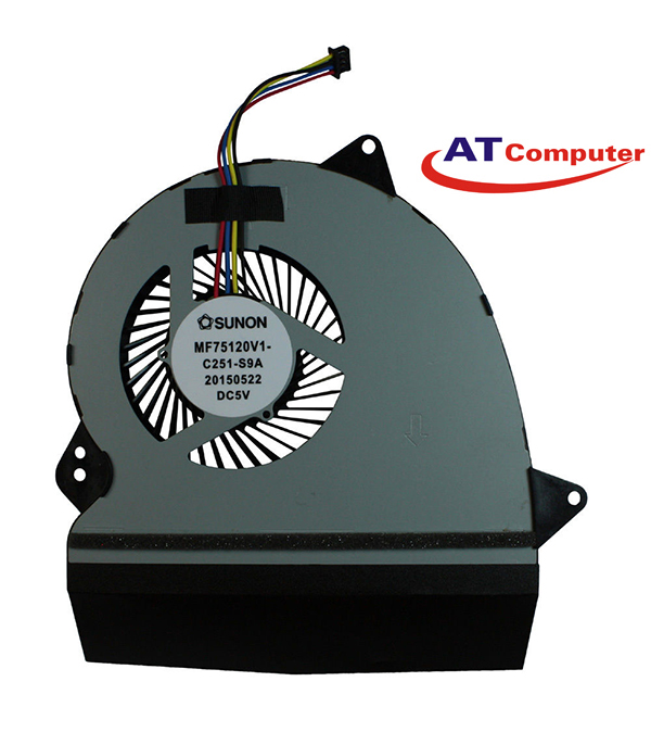 FAN CPU ASUS GL552, GL552JX, GL552V, GL552VL, GL552VW, GL552VX. Part: 13NB09I0P01011