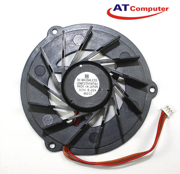 FAN CPU ASUS L5G, L5GA, L5800GA. Part: UDQF2ZH34FQU