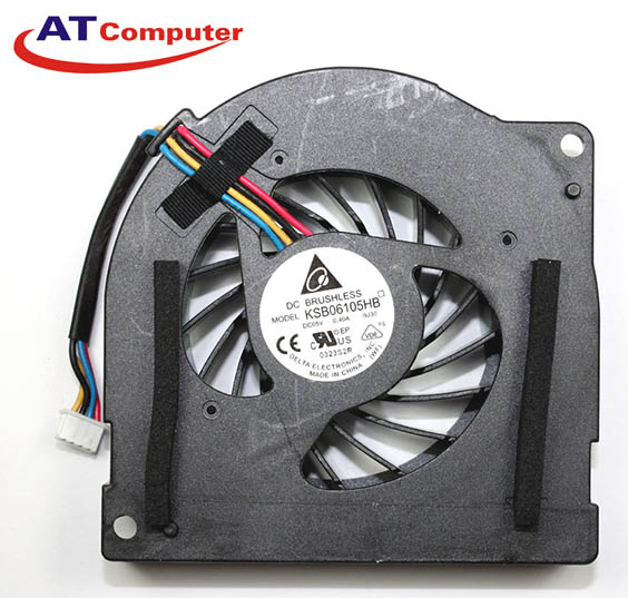 FAN CPU ASUS K72F, K72JR. Part: KSB06105HB, UDQFRZH15DAS