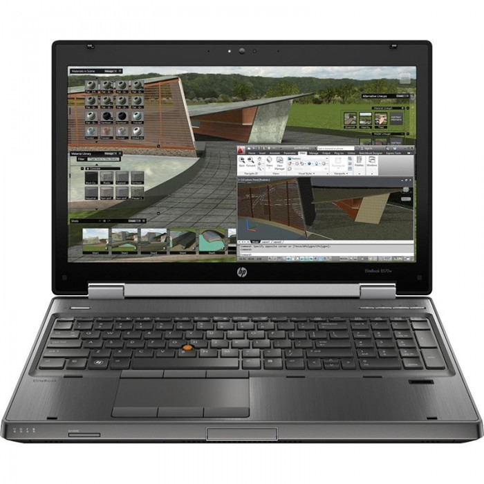 HP Elitebook 8570w, i7-3720QM, 8G, 500Gb, 15.6 FHD, VGA Quadro K2000M