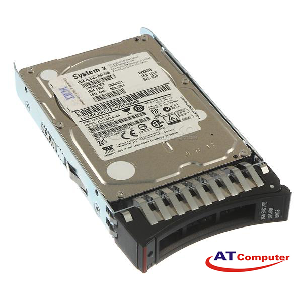 HDD IBM 600GB 12G SAS 10K 2.5'' G3HS SED. Part: 00NA291