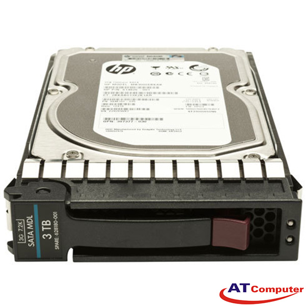 HP 3TB SATA 7.2K 6Gbps LFF 3.5. Part: 861693-B21