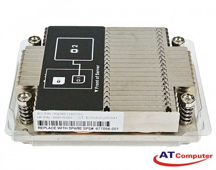 Heatsink HP ProLiant DL160 Gen8. Part: 677056-001