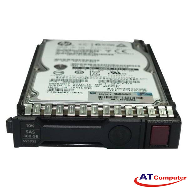 HP 300GB SAS 10K 12G SFF DP 2.5. Part: 785071-B21
