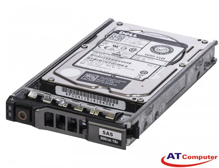 DELL 600GB SAS 15K 12Gbps 4kn 2.5. Part: DK2CX, 400-AKNH