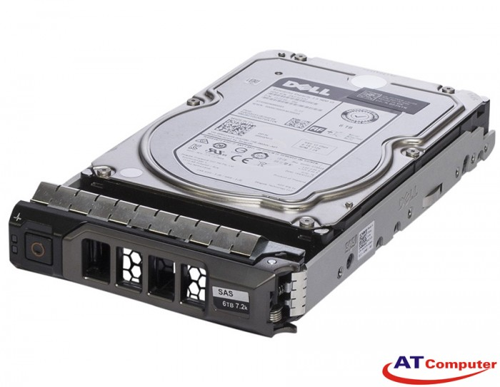 DELL 6TB SAS 7.2K 12Gbps 512e 3.5. Part: 3D8YM, 400-ALCQ