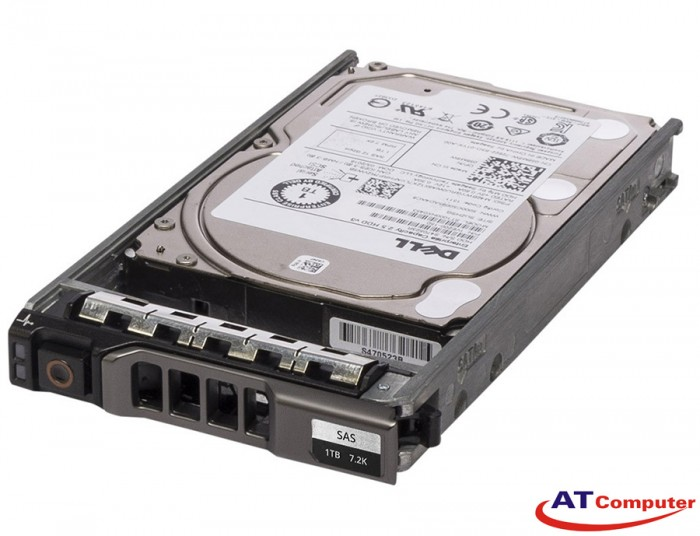 DELL 1TB SAS 7.2K RPM 12Gbps 512n 3.5. Part: WYKGH, 400-ALUY