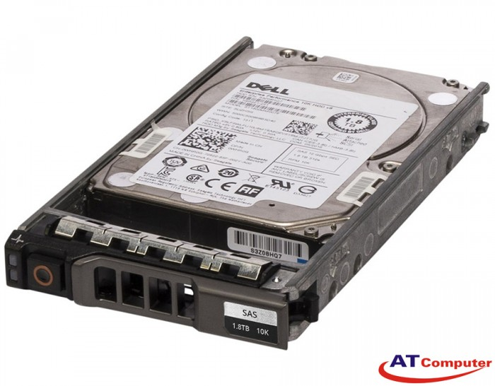 DELL 1.8TB SAS 10K 12Gbps 512e 2.5. Part: HF0W6, 400-AJXM