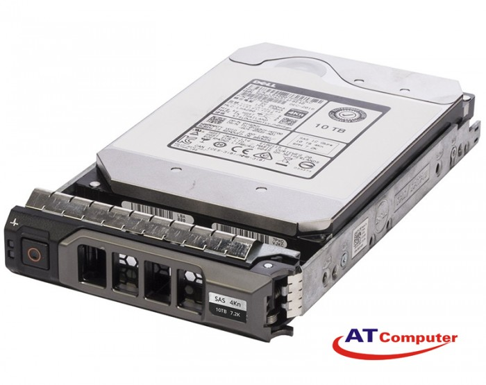 DELL 10TB SAS 7.2K 12Gbps 512e 3.5. Part: FNX43, 400-ANVF