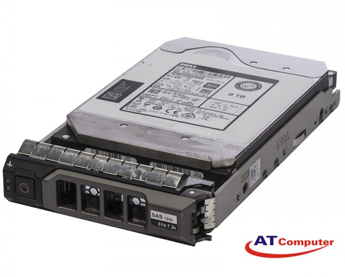 DELL 8TB SAS 7.2K 12Gbps 4kn 3.5. Part: 6DR60, 400-ANWM