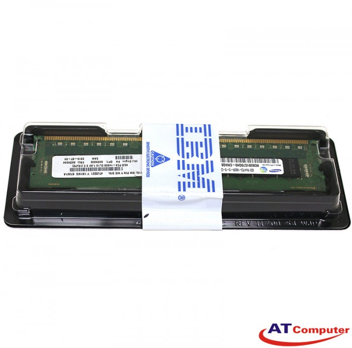 RAM IBM 8GB DDR3-1333Mhz PC3-10600 Dual Rank CL9 VLP ECC. Part: 46C0580
