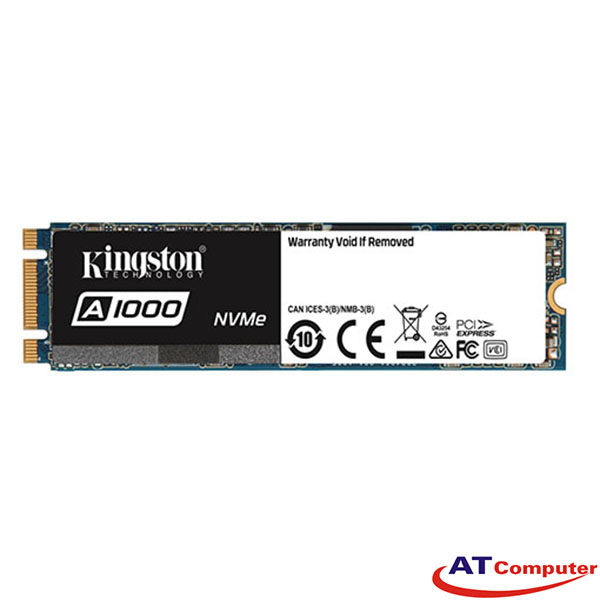 SSD Kingston A1000M8 480GB NVMe PCIe (Doc 1500MB/s, Ghi 900MB/s) -SA1000M8/480G