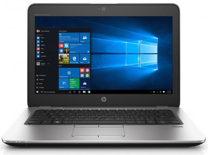 HP EliteBook 820 G4, i5-7600U, 8GB, SSD 256GB, 12.5