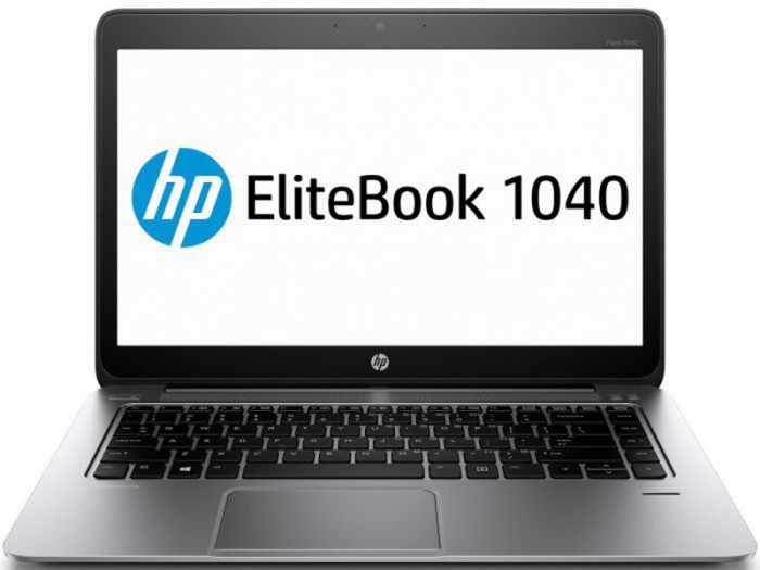 HP EliteBook Folio 1040 G1. i5-4300U, 4GB, SSD 128GB, 14.0