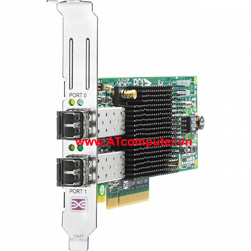 HP 82Q 8Gb 2-port PCIe Fibre Channel Host Bus Adapter, Part: AJ764B