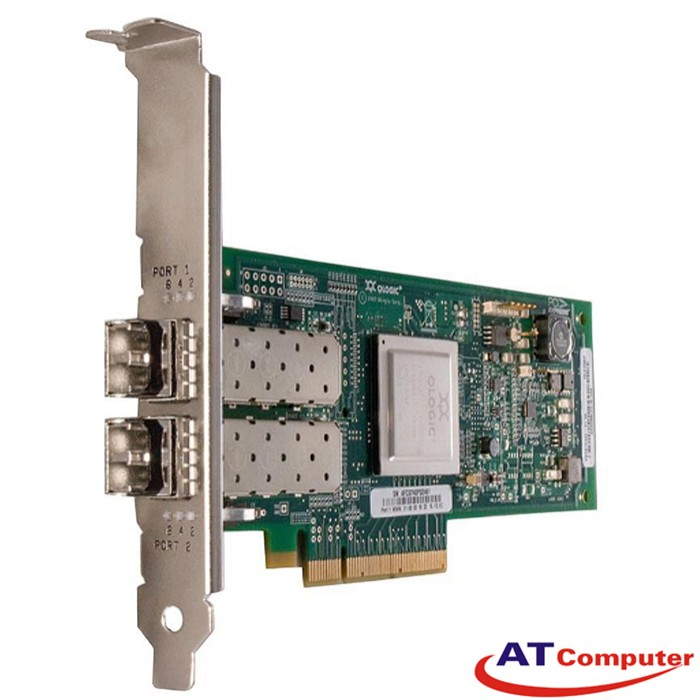 IBM QLogic 8Gb FC Dual-port HBA PCI-E Host Bus Adapter, Part: 42D0516