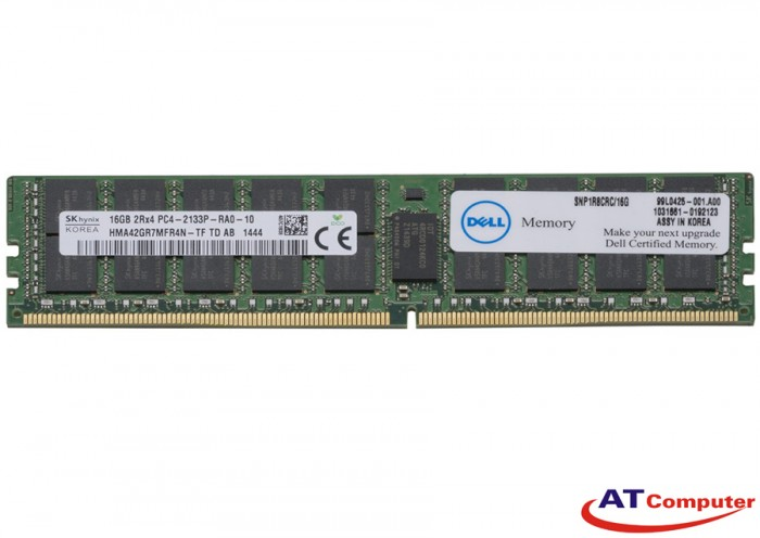 RAM DELL 16GB DDR4 2133MHz PC4-17000 Registered ECC. Part: 237FC, 0237FC