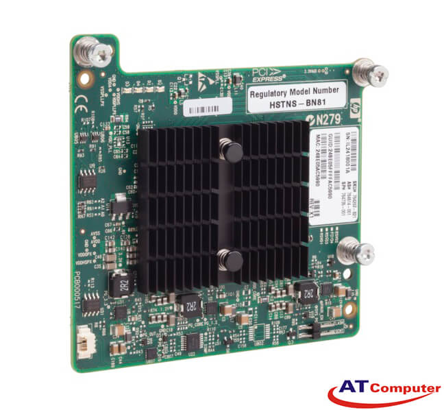 HP InfiniBand FDR/Ethernet 10Gb/40Gb Dual Port 544+M Adapter. Part: 764283-B21
