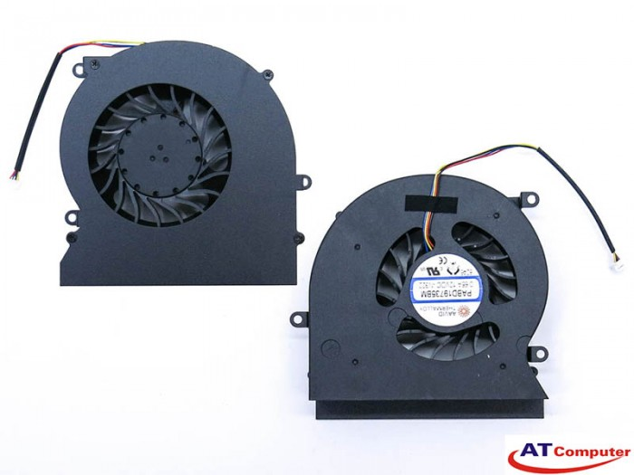 FAN CPU MSI GT62, GT62VR, 16L1, 16L2, 16L3. Part: PABD19735BM