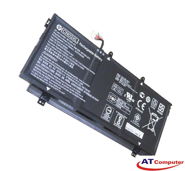 PIN HP Envy 13-AB, 13-AB000, 13-AB099. 3Cell, Oem. Part: CN03XL, CN03057XL, 901308-421, 901345-855