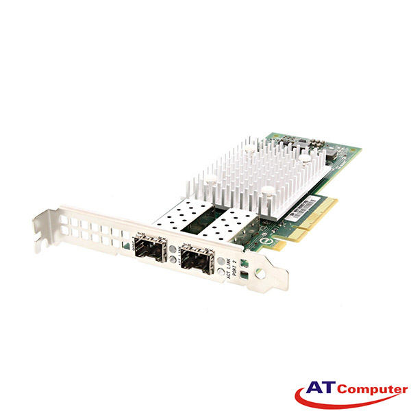 Dell QLogic QL41262HFCU-DE 10Gb SFP+ Dual Port Full Height CNA. Part: 51GRM, 051GRM