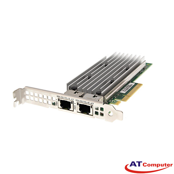 Dell Intel X520-T2 10Gb RJ-45 Dual Port Network Adapter. Part: JM42W, 0JM42W