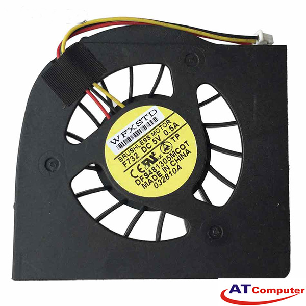 FAN CPU MSI GX700, EX700, GX700X. Part: DFS481305MC0T F732